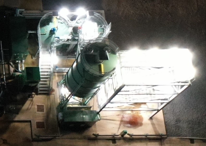 Taunton Ham STW Lime Dosing Plant: 2018