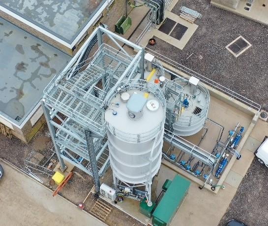 Thornford STW Lime Dosing Plant: 2018
